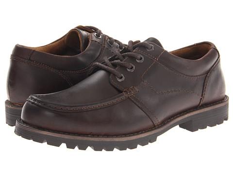 Pantofi Dockers - Humboldt - Dark Brown Oily Burnishable Crazy Horse