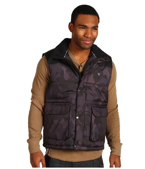Jachete L-R-G - Root Down Vest - Black Camo