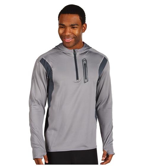Bluze adidas - TECHFITâ⢠CLIMAWARMâ⢠Fitted Quarter Zip - Tech Grey/Dark Onix