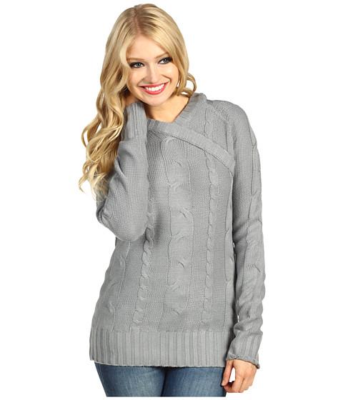 Bluze Carve Designs - Greenly Hooded Sweater - Granite