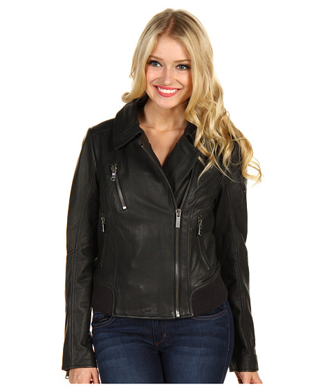 Jachete UGG - Lexington Lambskin Moto Jacket - Black