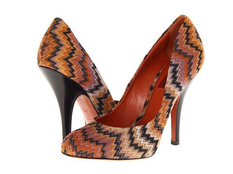 Pantofi Missoni - UM055 - Amber Flame Stitch