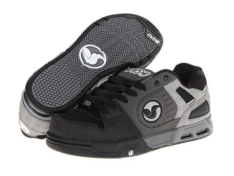 Adidasi DVS Shoe Company - Tracker Heir - Black/Grey Nubuck FA 13