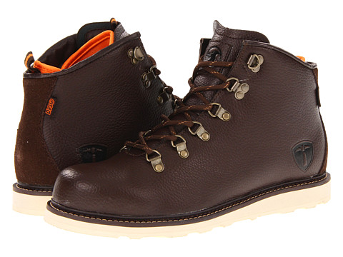 Ghete DVS Shoe Company - Yodeler Snow - Brown Leather
