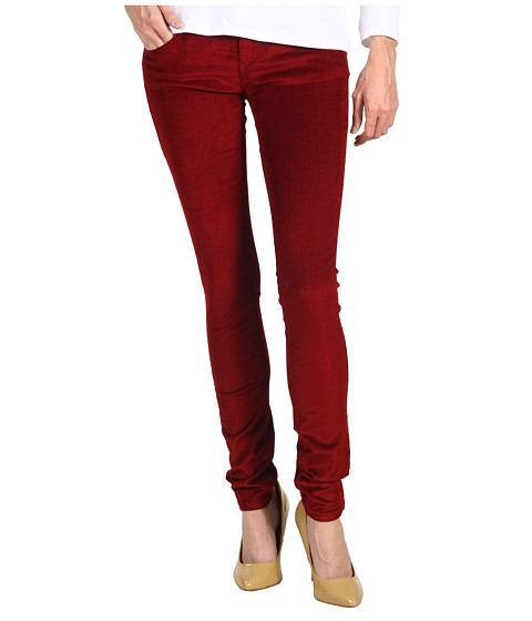 Pantaloni Gabriella Rocha - Solina Skinny Corduroy - Merlot