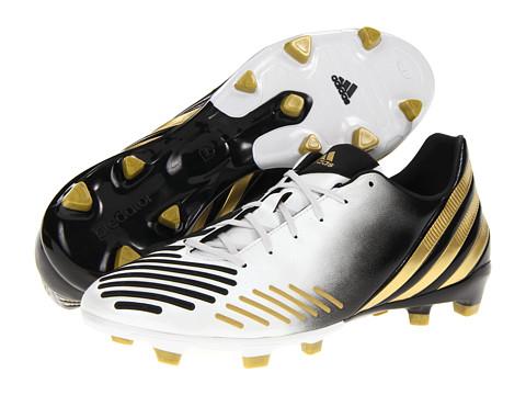 Adidasi adidas - predatorî Absolion LZ TRX FG - White/Black/Metallic Gold