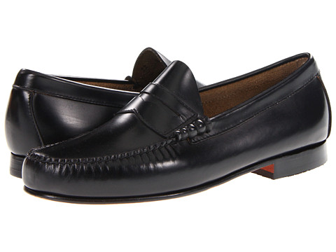 Pantofi Bass - Leverett - Black Matte Leather