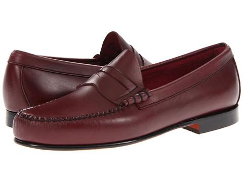 Pantofi Bass - Leverett - Burgundy Matte Leather