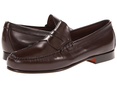 Pantofi Bass - Leverett - Mahogany Matte Leather