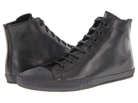 Pantofi Jil Sander - High Top Trainer - Black/Nappa Calf