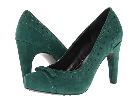 Pantofi Easy Spirit - Mariola - Medium Green Suede