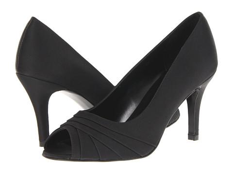 Pantofi Vaneli - Penta - Black Satin