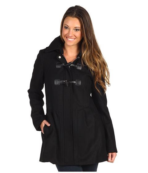 Jachete Jessica Simpson - Wool Toggle Duffle Coat w/Detachable Hood - Black