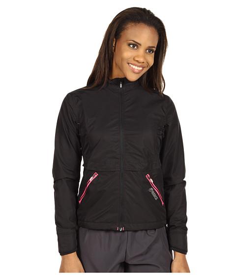 Bluze ASICS - Storm Shelterî Jacket - Black/Neon Pink
