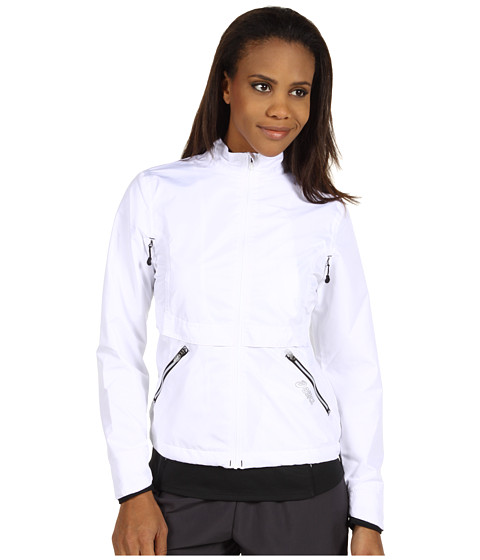 Bluze ASICS - Storm Shelterî Jacket - White/Black