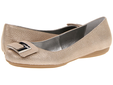 Balerini Calvin Klein - Lucie - Light Taupe Dusty Tumbled Leather