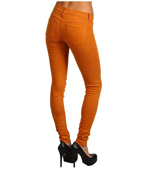 Pantaloni Gabriella Rocha - Kamilia Skinny Jean in Bronze - Bronze