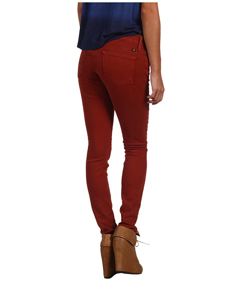 Blugi Lucky Brand - Colorful Charlie Skinny in Canyon Red - Canyon Red