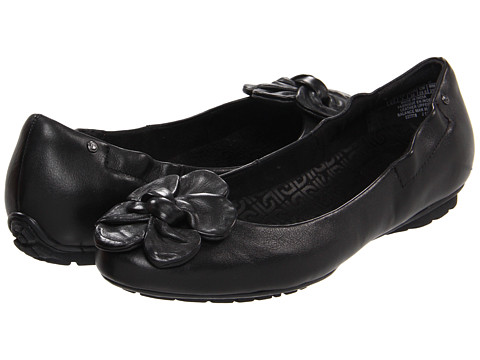 Balerini Rockport - Etty Flower Scrunch - Black
