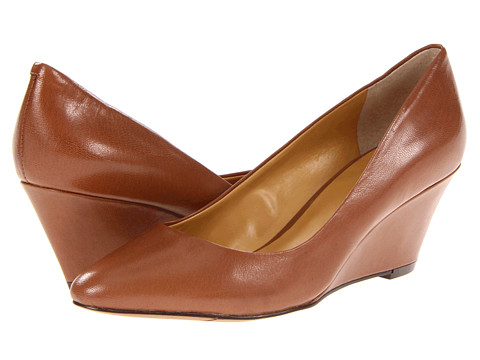Pantofi Nine West - Lupetto - Dark Natural Leather