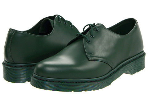 Pantofi Dr. Martens - 1461 3-Tie Shoe - Green Smooth