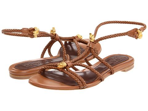 Sandale Alexander McQueen - Sandal Pelle S. Cuoio - Hazelnut