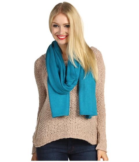 Esarfe si fulare Echo Design - Cashmere Blend Oversized Wrap - Turquoise