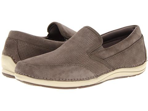 Pantofi Rockport - Leberson - Charcoal Suede