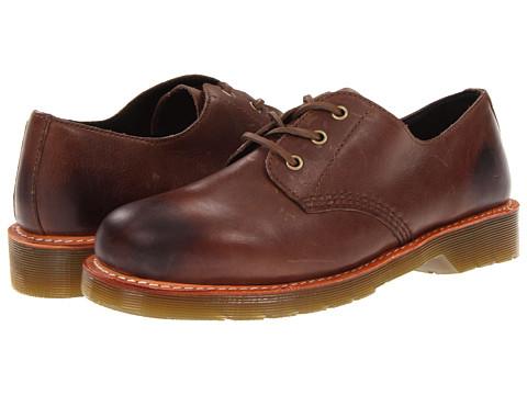 Pantofi Dr. Martens - Everly Lace Shoe - Dark Brown