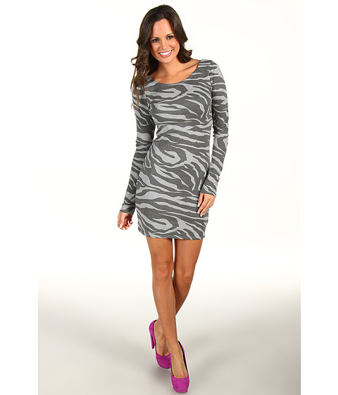 Rochii Vans - Cheetah-Con Dress - Grey Heather