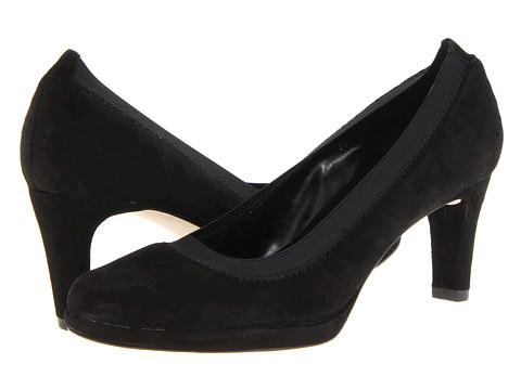Pantofi Vaneli - Fineen - Black Suede