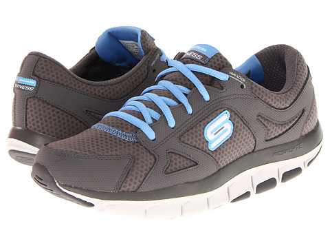 Adidasi SKECHERS - LIV - Fearless 2 - Charcoal/Blue
