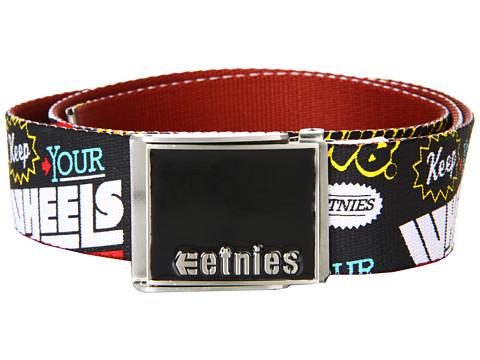 Curele etnies - Staple Graphic 2 Belt - Red/Black