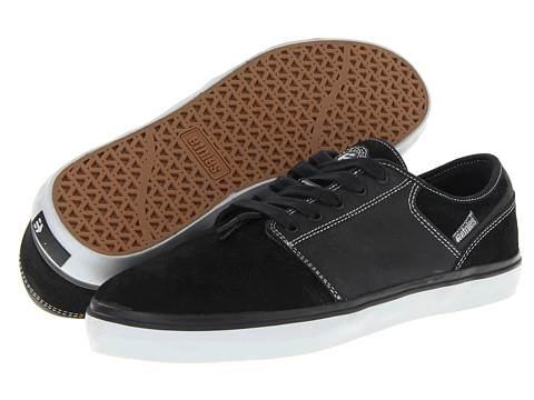 Adidasi etnies - Bledsoe Low - Black Grey (Suede/Leather)