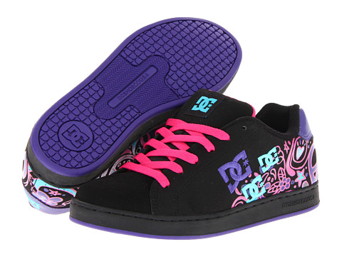 Adidasi DC - Pixie Doodle W - Black/Crazy Pink/Blue