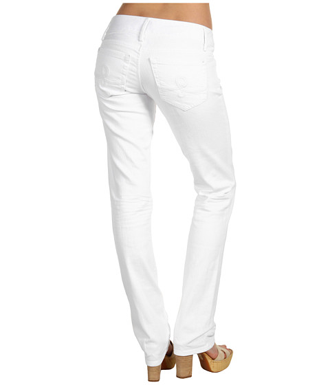 Blugi Lilly Pulitzer - Worth Straight Jean in Resort White - Resort White
