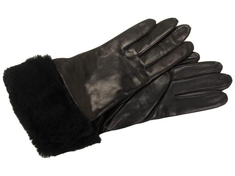 Manusi UGG - Classic Long Leather Glove - Black