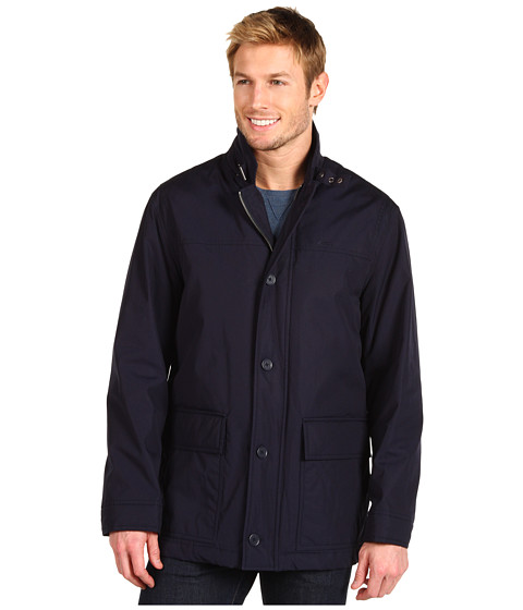 Jachete Lacoste - Fall Weight Car Coat - Eclipse Blue