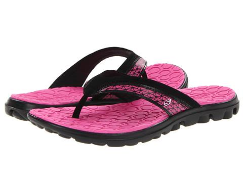 Sandale SKECHERS - On The GO Escape - Black/Hot Pink