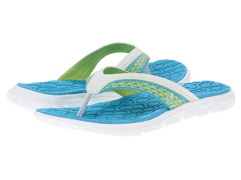 Sandale SKECHERS - On The GO Escape - Blue/Lime