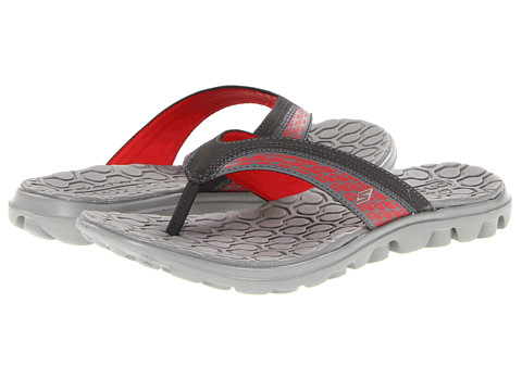 Sandale SKECHERS - On The GO Escape - Charcoal/Red