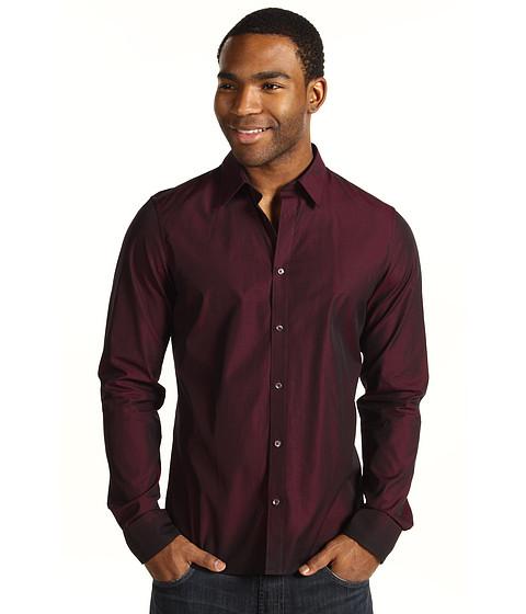 Camasi Ben Sherman - Plectrum Poplin Graduated Color Hem Shirt - Port Royale