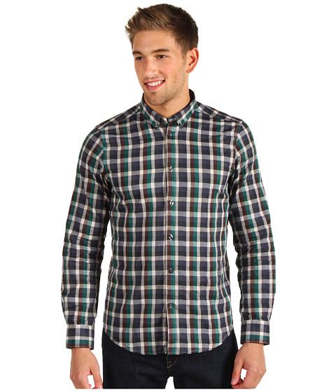 Camasi Ben Sherman - Textured Fancy Gingham Shirt - Puritan