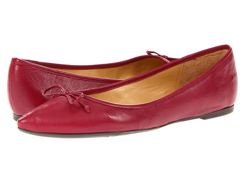 Balerini Nine West - Keep It Up - Red Leather