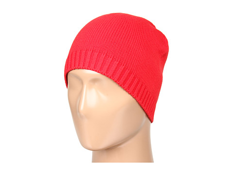 Sepci Lacoste - Croc Cotton Wool Knit Beanie - Red