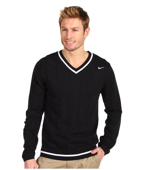 Pulovere Nike - L/S Tennis Sweater - Black/White/White
