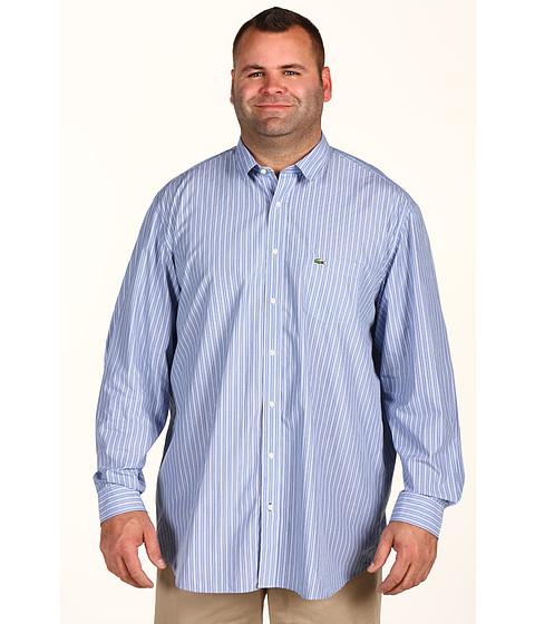 Bluze Lacoste - Tall L/S Multi Color Stripe Shirt - Titaniuim/Azur Blue/River/Black