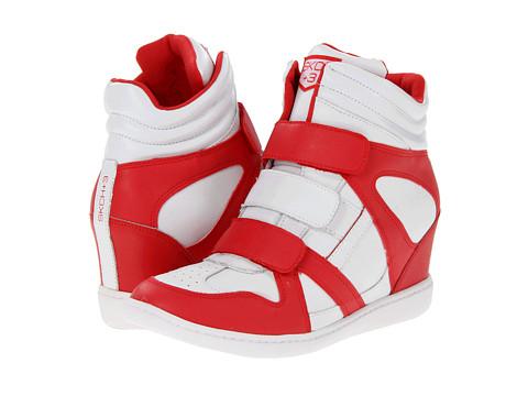 Adidasi SKECHERS - SKCH Plus 3- Slammin - White/Red