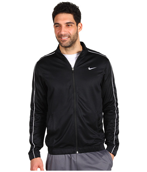 Bluze Nike - Franchise Mesh Jacket - Black/Black/White/White