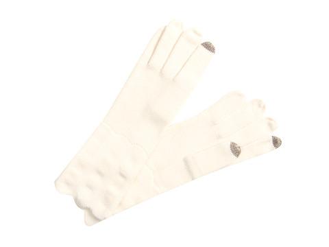 Manusi Echo Design - Wave Stitch Echo Touch Glove - Vanilla